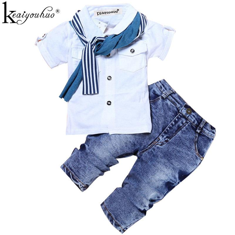 32d6cdb4d 2019 Boys Clothes Summer Children Clothing Sets Costumes For Kids ...