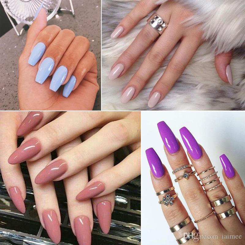 Buy Slineswis film peelable nail polish all posted solid color ...