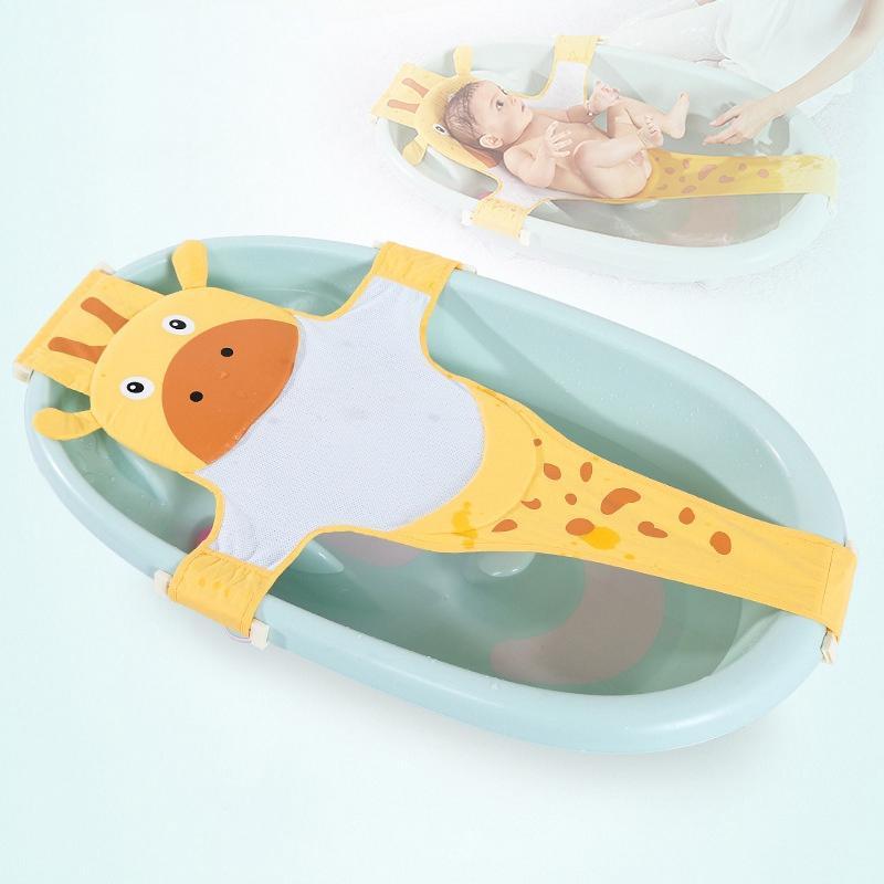 2018 Portable Bathtub Infant Shower Bath Mat Security Seat Support ...
