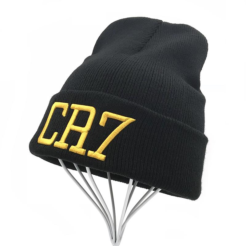 3d32d57eeafaf CR7 Beanies Knit Cap Winter Caps Skullies Bonnet Cristiano Ronaldo Winter  Hats For Men Women Beanie Outdoor Sports Warm Cap 2018 Crochet Beanie  Beanies For ...