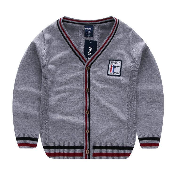53703d18c Autumn Boys Cardigan Sweater Children Clothes Baby Cardigan Boy ...