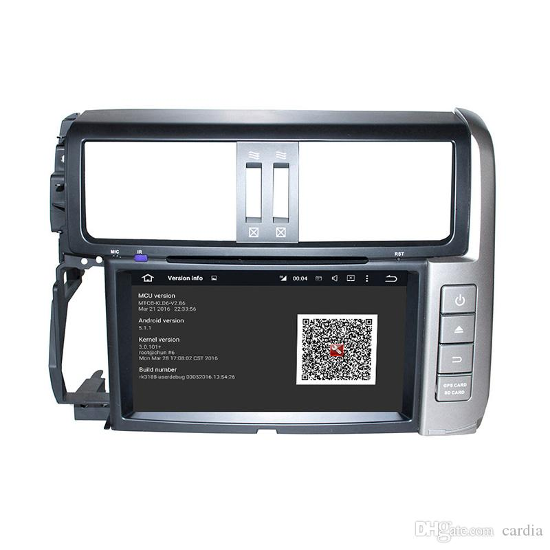 8inch 2GB RAM Andriod 6.0 Octa core Car DVD player for Toyota PRADO with GPS,Steering Wheel Control,Bluetooth,Radio