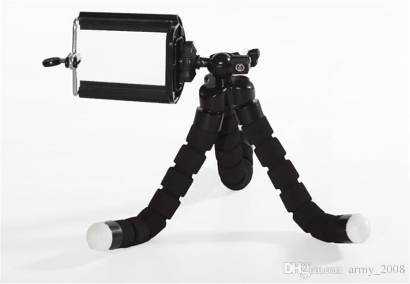كاميرا مصغرة مرنة حامل الهاتف خطبوط مرن حامل قوس ثلاثي الحامل