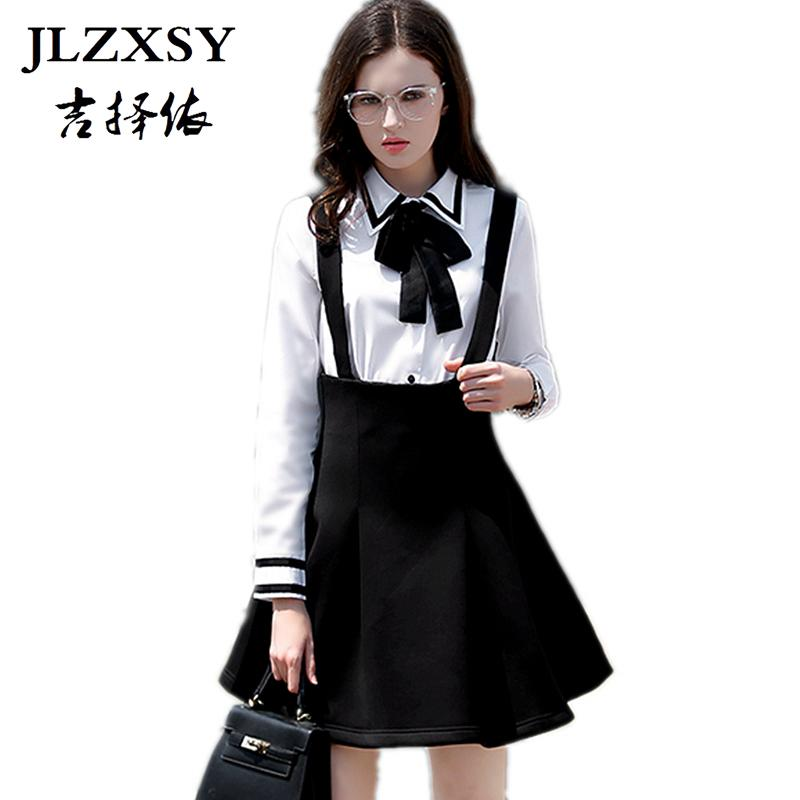 ade4234f85 2019 JLZXSY Fashion Women Elegant High Waist Suspender Skirt Pleated Swing A  Line Mini Skirt From Watchlove, $26.81 | DHgate.Com