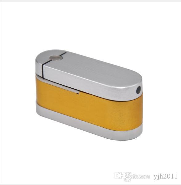 Mini petit tuyau en aluminium rotatoire de double petit tuyau en métal