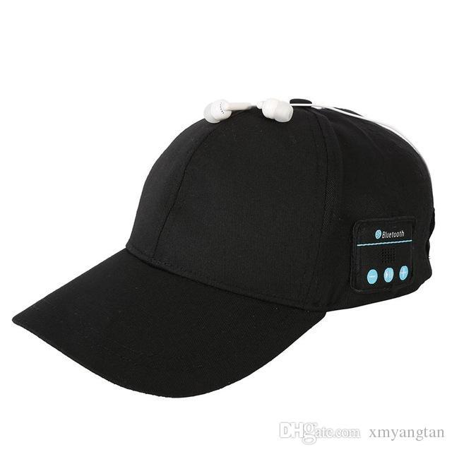 Earphone Hat Wireless Headphones Baseball Cap Gadgets Headset Speaker Mic Bluetooth Headset Hat for Outdoor Sports