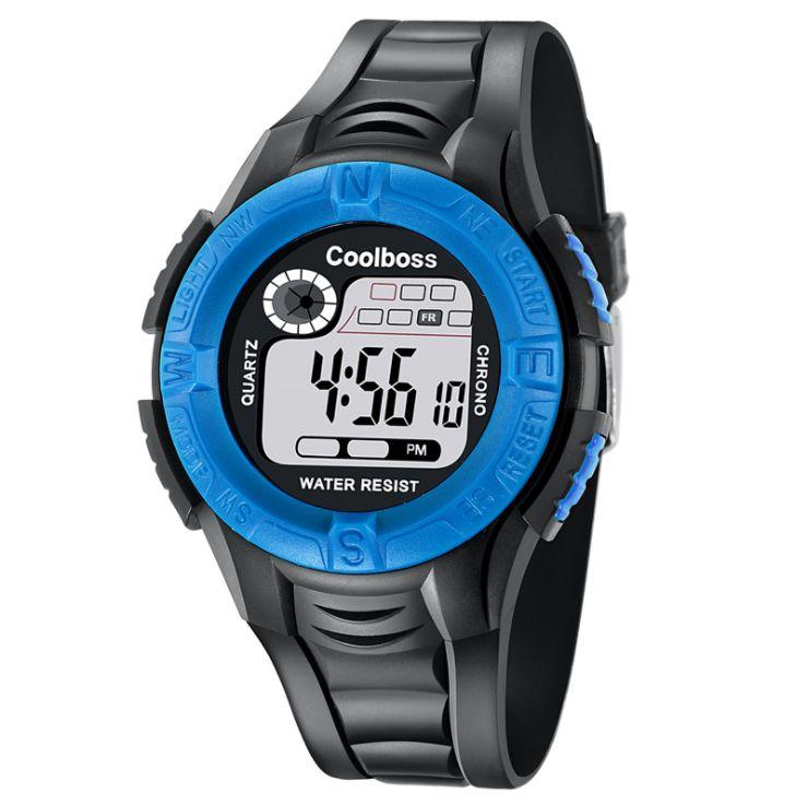 Warnen Kinder Mädchen Analog Digital Sport Led Elektronische Wasserdichte Armbanduhr Neue Luxus Sport Mode Casual Elektronik Uhren Uhren