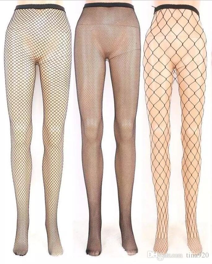 best Sexy Thigh High Top Stockings Christmas Pantyhose Fishnet Stockings Hollow Net Pantyhose Stocking Red Black White Sale top new