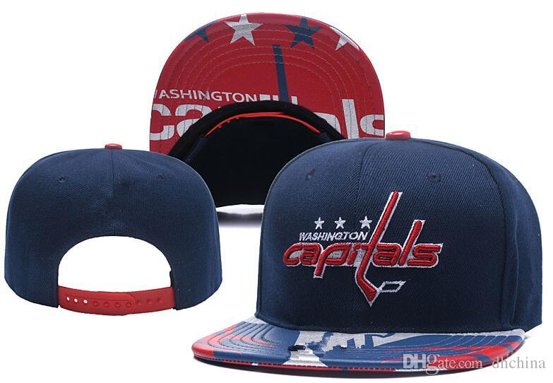 2019 New Caps Washington Capitals Hockey Snapback Hats Blue Color Cap Team  Hats Mix Match Order All Caps Top Quality Hat From Dhchina f0ff9dee381