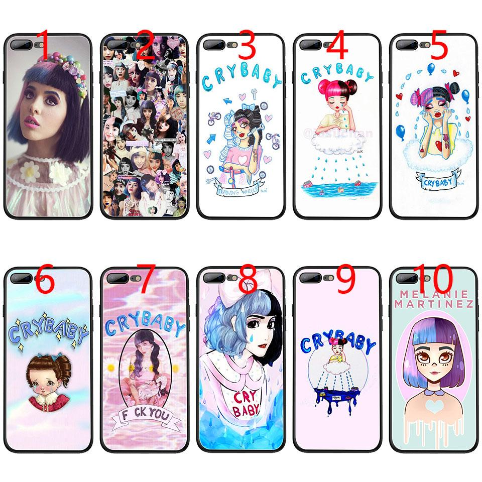 watch 33c49 9be47 Melanie Martinez Cry baby Soft Black TPU Phone Case for iPhone XS Max XR 6  6s 7 8 Plus 5 5s SE Cover