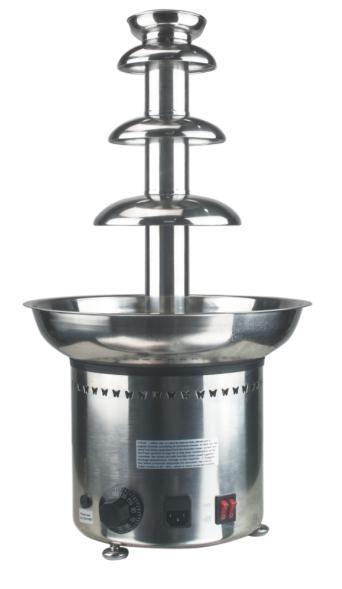 Hochwertige kommerzielle elektrische Edelstahl Schokoladenbrunnen Maschine Schokolade Schmelzer Brunnenmaschine für die Partei zu verkaufen