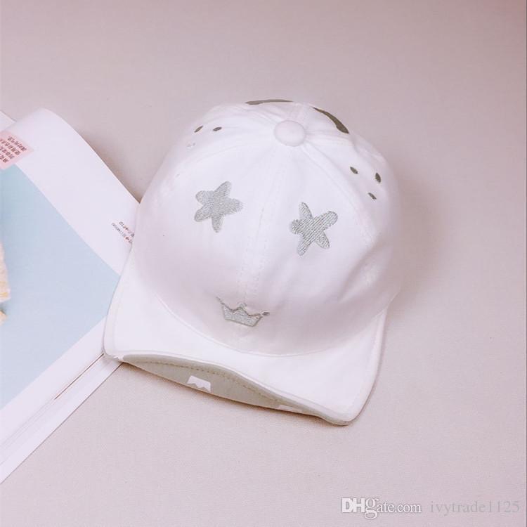 kleine Kinder Kindersommerhutmädchen Jungenkatzendesignhutsommer casquette Kappenbaby beiläufige frische Lichtschutzbaseballhüte