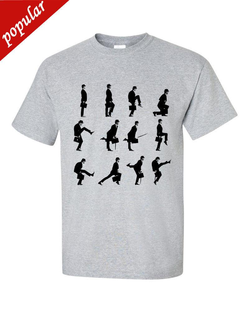 6a9c9307 Silly Walks John Cleese Monty Python T Shirt Daily T Shirts Printable T  Shirts From Customteemall, $10.67| DHgate.Com