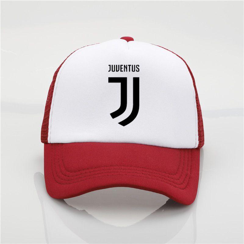 087fc8669f Fashion Hat Juventus Printing Net Cap Baseball Cap Men And Women Summer  Trend Cap New Youth Joker Sun Hat Beach Visor Hat D18110601 Custom Trucker  Hats ...