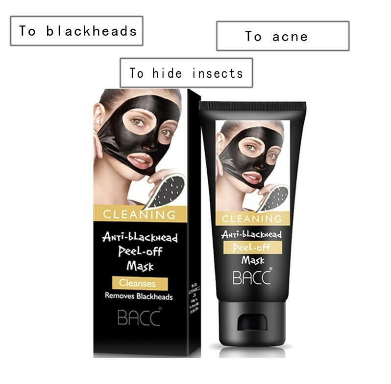 BACC Cura del viso Rimuovere la maschera di comedone Shrink Pore migliorare la pelle ruvida Acne Blackhead Remover Mask crema idratante viso DHL
