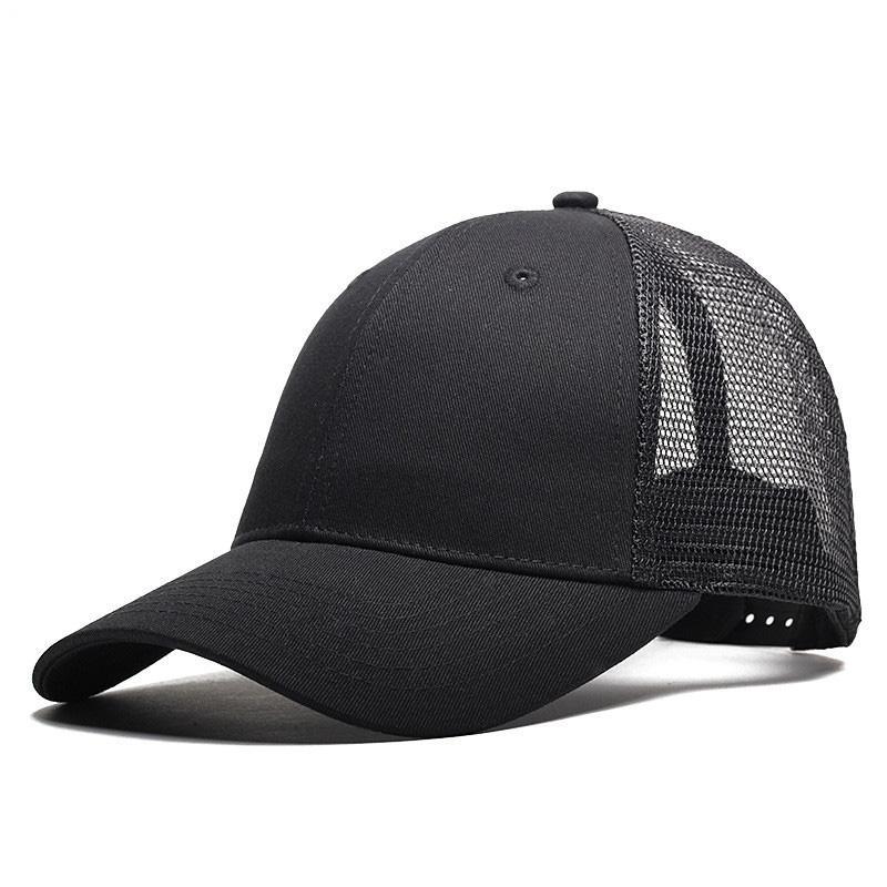 885fc8af158 Adjustable Brand Mesh Snapback Caps Hat Woman Black Navy Mens Caps Unisex  Gorras Hip Hop Snapbacks Mesh Sun Hats For Men Starter Cap Big Hats From  Huazu