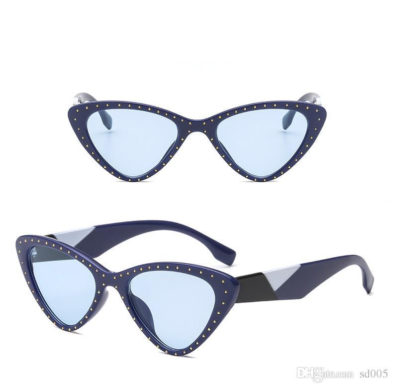 6b72d9e49 Compre Tendência Óculos De Sol Feminino Mens Designer Sun Glasse Europa  América Sexy Cat Eye Modelagem De Ouro Embelezar Moda Colocação 12jh Cc De  Sd005, ...