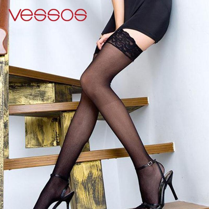 73e83da6c17 2019 New Fashion Womens Sexy Womens Sheer Sexy Highs Stockings Lace  Stockings  From Missher
