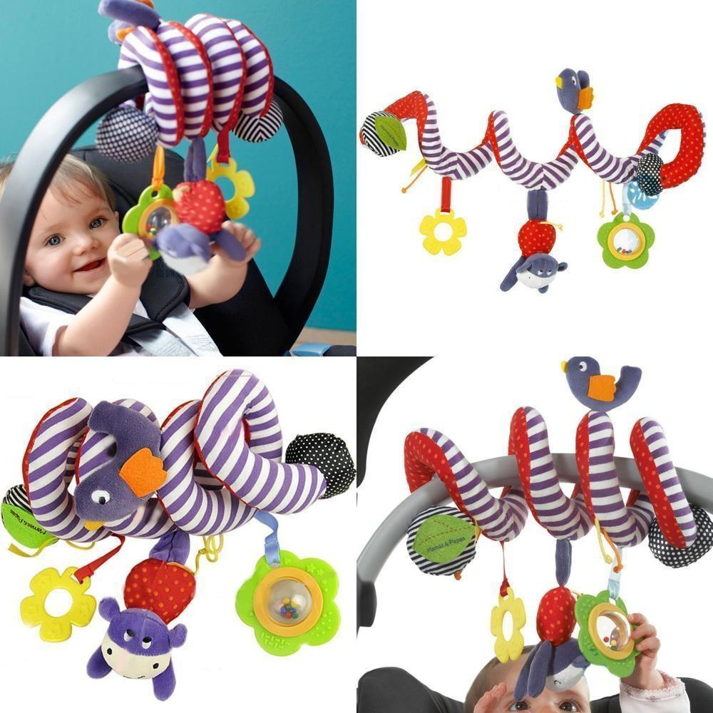2018 BA Baby Activity Spiral Toy For Car Seat Pushchair Pram Stroller Cot Bed From Limerence667 1376