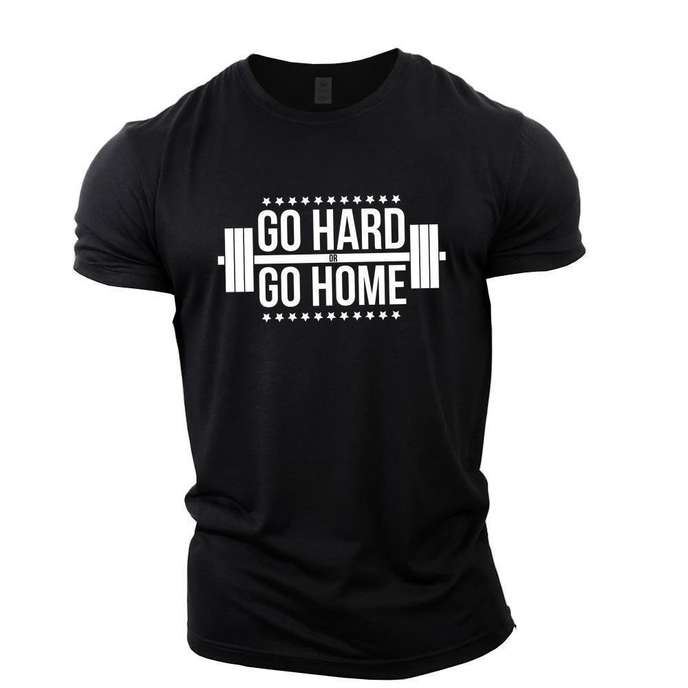 087d093c60f Details Zu Go Hard Or Go Home Bodybuilding T Shirt