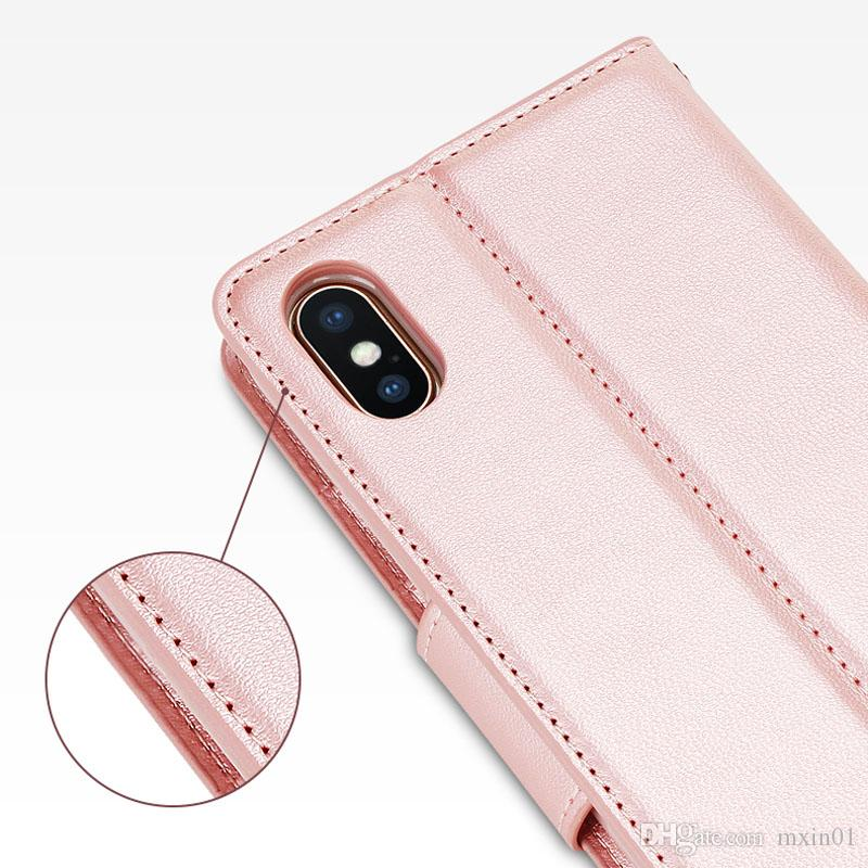 Hanman Mill Wallet PU Flip Leather Stand Cases For RedMi Note 8 9 10 10X Note9 Note10 K40 POCO X3 M3 F3 XiaoMi 10T 11 Lite Ultra With Retail Package