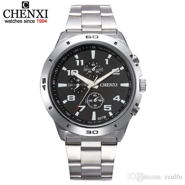 9c2b669d366 Compre Chenxi Homens Relógio Militar Relogio Masculino De Quartzo Relógio  Mens Relógios Top Marca De Luxo Esporte Relógio De Pulso Mens Marca De Moda  2017 ...