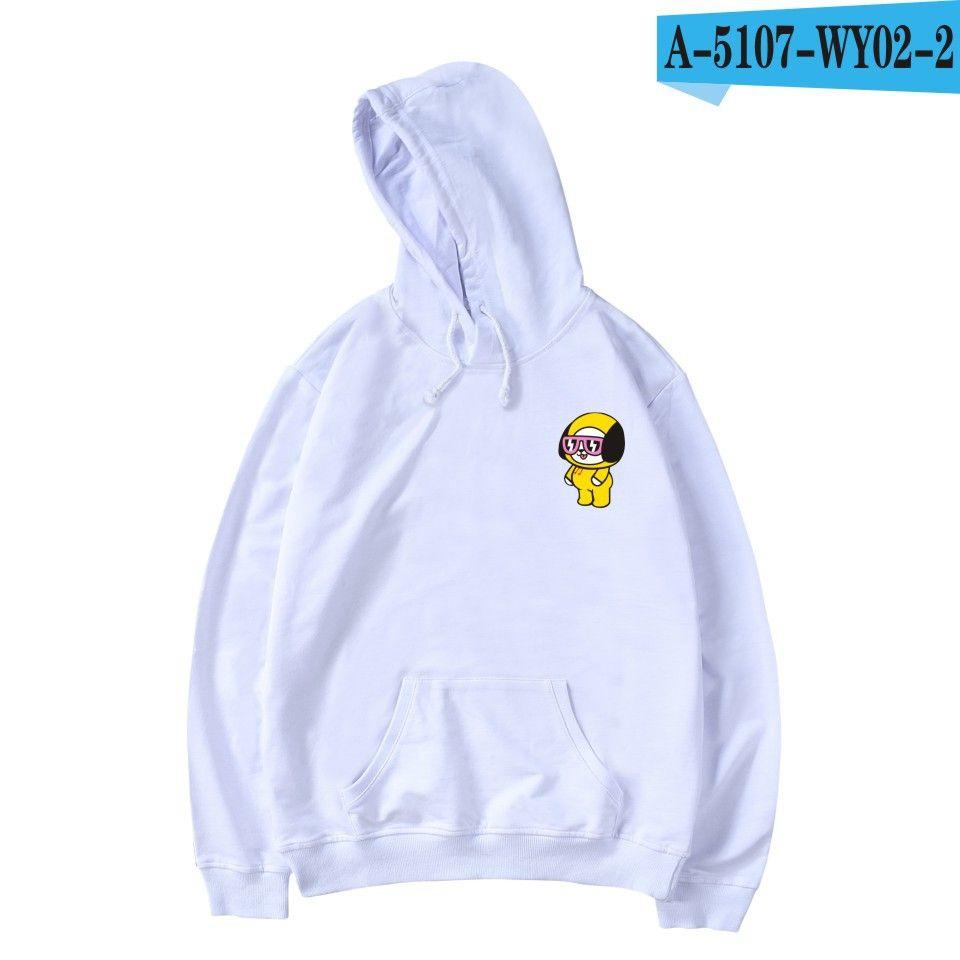 5a0569185 2019 White Hoodie Women Oversize Casual Zip Up Hoodies Jackets For Girls  Sweatshirts Pullover BTS Kpop Cute Cartoon Kawaii Kumamoto From Hongyeli,  ...