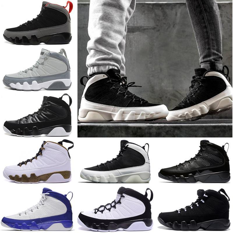 6977d7fe6a2 2018 Cheap NEW 9 9s LA Oreo Mens Basketball Shoes Black White Shoe ...