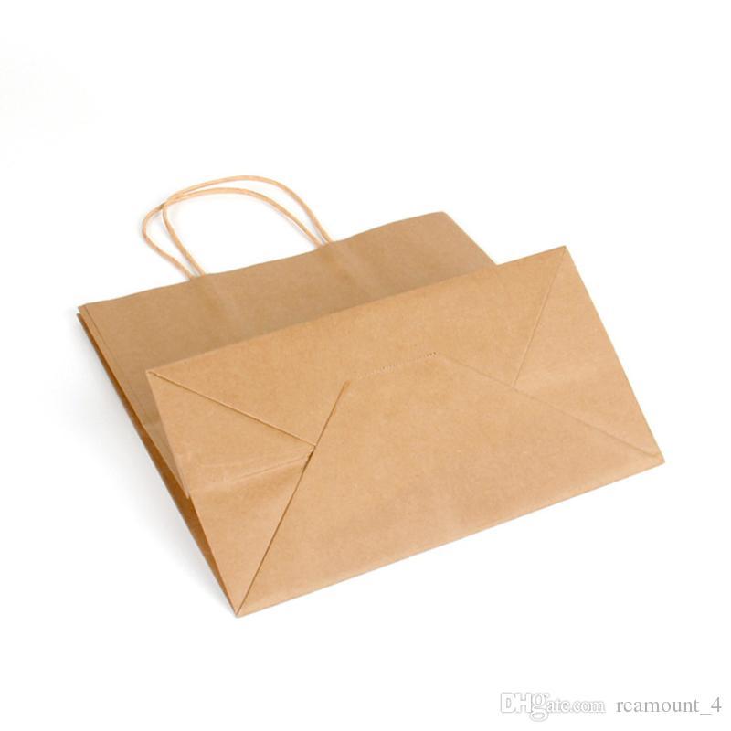 Custom Logo Shopping Bags for Wireless Store Luxury High Class Blank Kraft Paper Bag for Gift Clothing Packaging