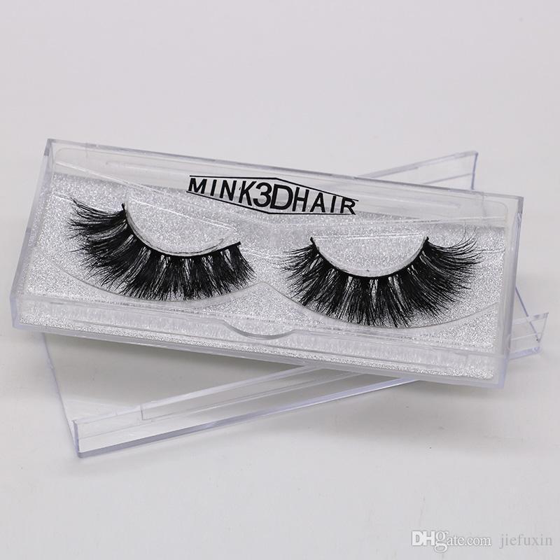 9fbd634957c 3D Mink Eyelash 100% Real Mink Fur Handmade False Eyelash Crossing Lashes  Individual Strip Thick Lash H47 How Much Are Eyelash Extensions Lash  Extension ...