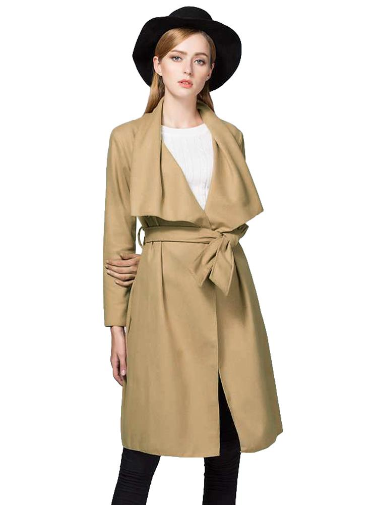 6fe3ab469 2019 Fashion Women Long Cardigan Draped Coat Long Sleeve Autumn ...