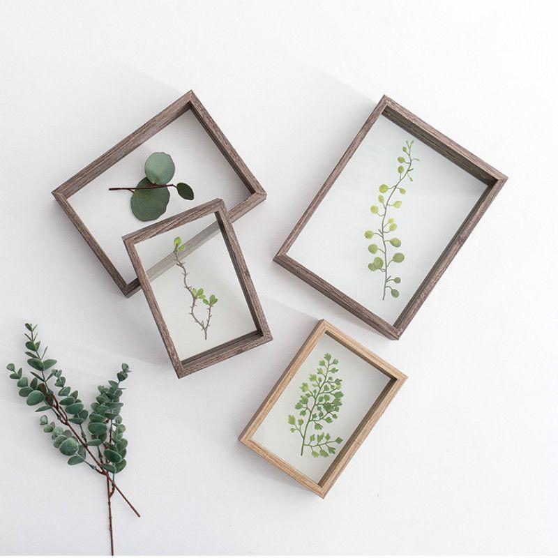 2019 Creative Plant Specimens Double Sided Acrylic Plastic Frame