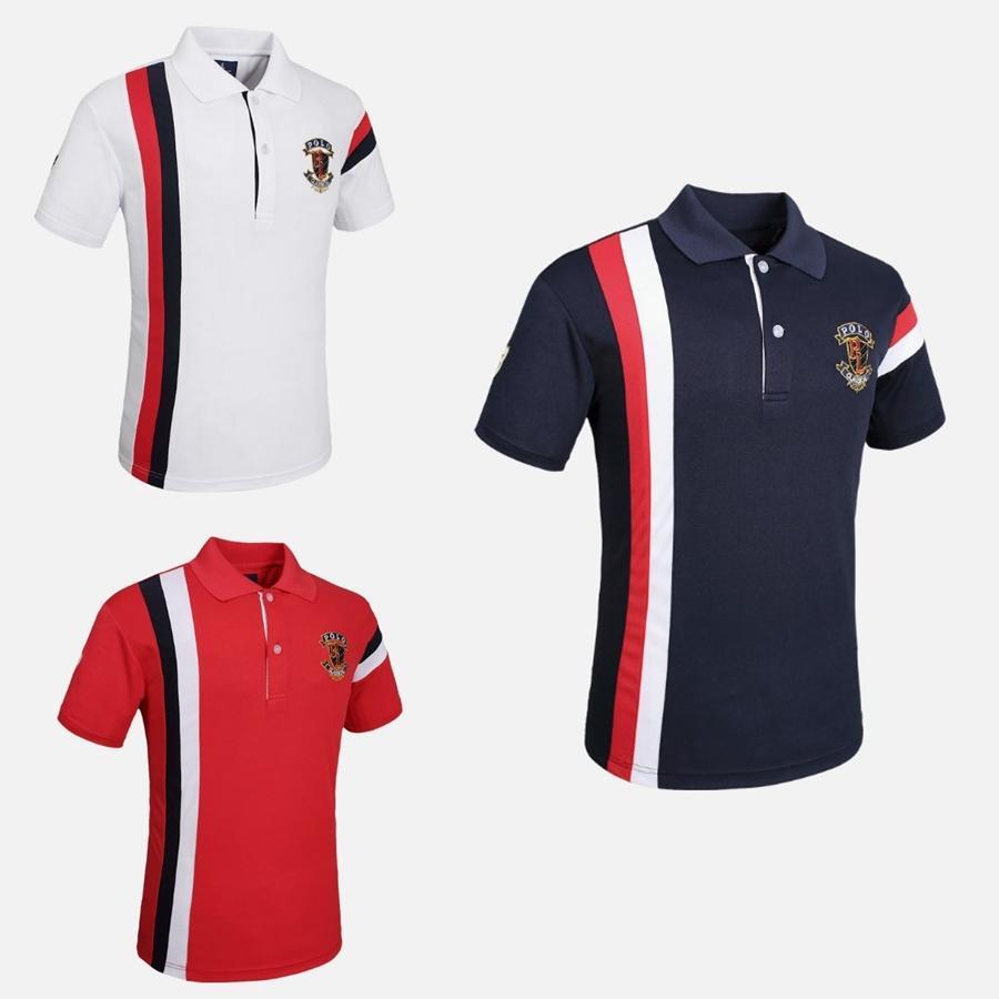 Fannai Mens Golf Shirt Short Sleeve Golf Polo Shirt Running Jogging