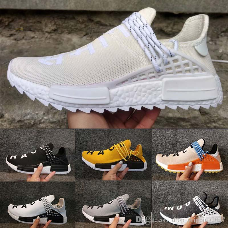 discount low shipping Hot Wholesale NMD HUMAN RACE HU Trail Blank Cream Pharrell Williams x 2016 NMD Men's & Women's Discount Cheap Fashion Sport Shoes Free Ship eastbay cheap online discount purchase outlet release dates UMOJc