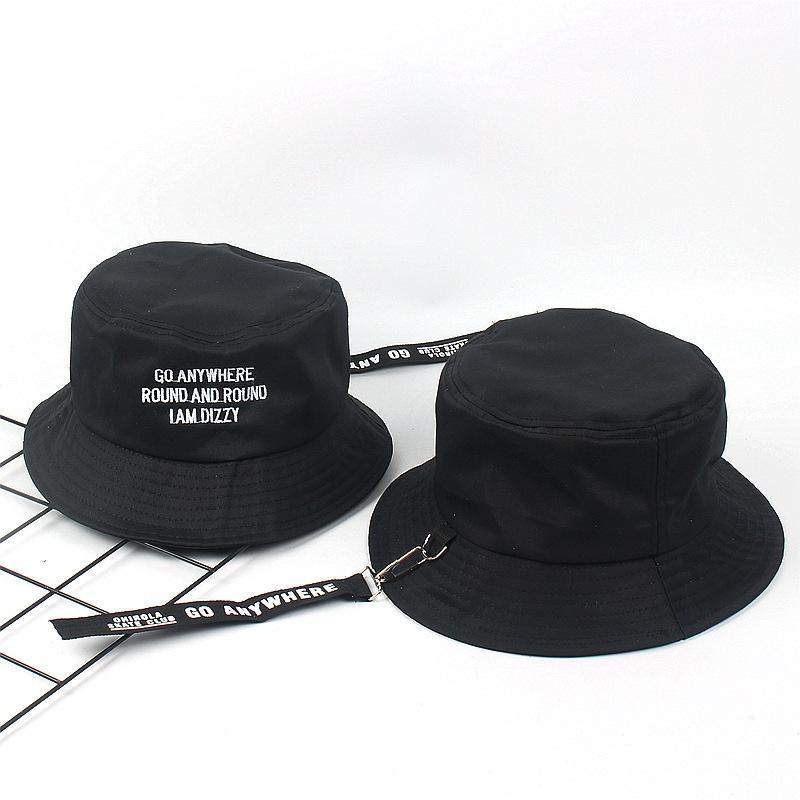 eeb62710886 2019 Hot Selling Japanese Harajuku Cap With Long Belt Hip Hop Bucket Hat  Men Women Hats Fishing Hat Bob Boonie Cotton Fisherman Hat From Sport2017