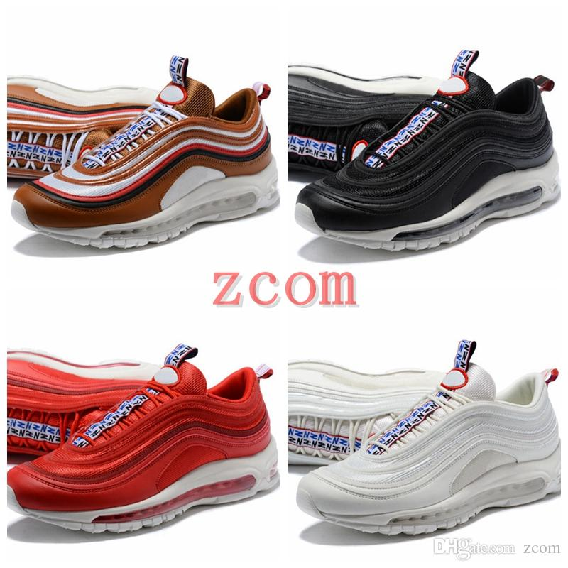 Top Quality 97 97s TT Prm Running Shoes Men Women 95 97 Brown Red Black White Blue Zapatillas HombrevJogging Trainers Sneakers free shipping big discount 2015 cheap online buy online authentic choice cheap price buy cheap amazing price 7G6XBSCn