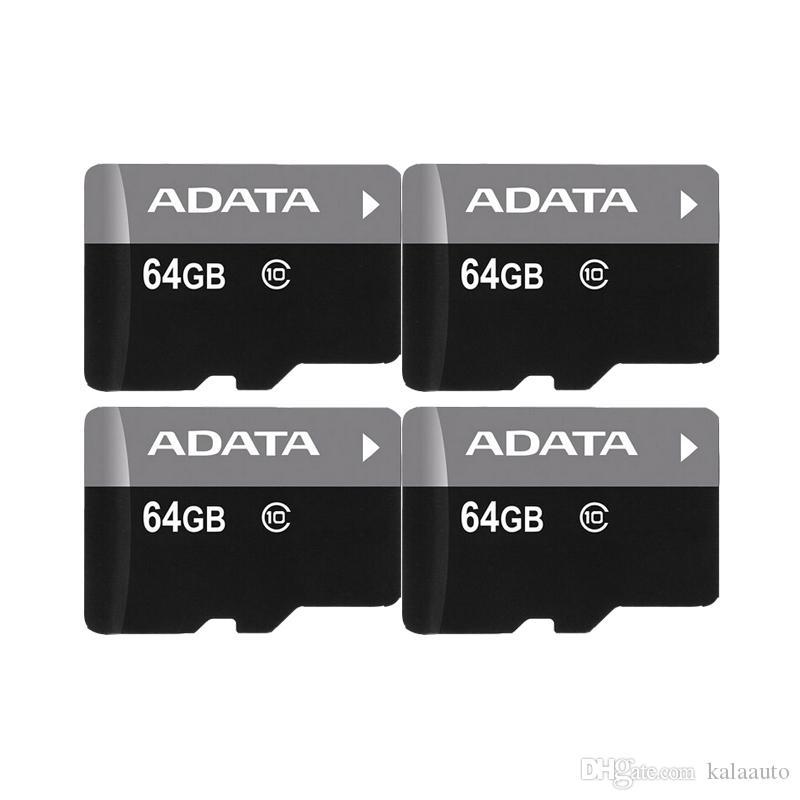 2018 뜨거운 판매 ADATA 32GB 64GB 128GB 메모리 카드 어댑터 Retack 블래스터 패키지 Epacket DHL 무료 배송