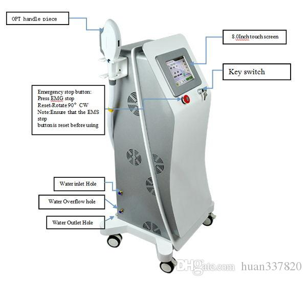 Newest!!!Promotion price OPT SHR hair removal machine powerful IPL skin rejuvenation device