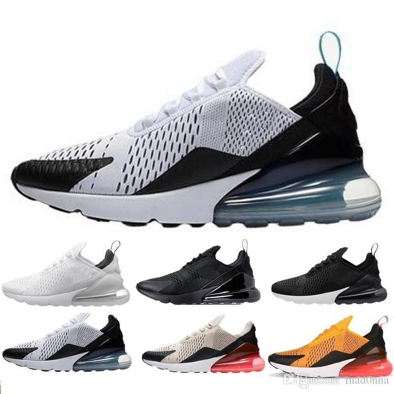 58365ff212f 2018 270 Shoes Men Women Outdoor Casual Shoes Vapor Black White ...