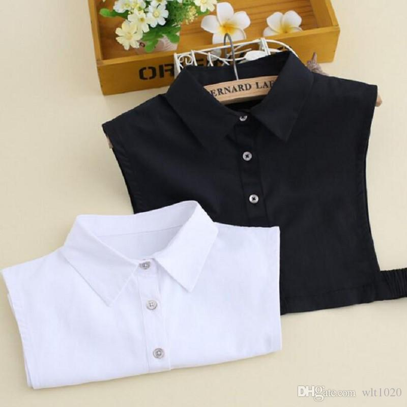 2018 Adult Shirt Collars Sweater Accessory Detachable Collar All
