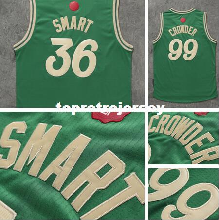 ... 50% off new 99 jae crowder 2016 christmas day 36 marcus smart green  stitched mens new arrivals nba 2017 18 ... 88a235d6d