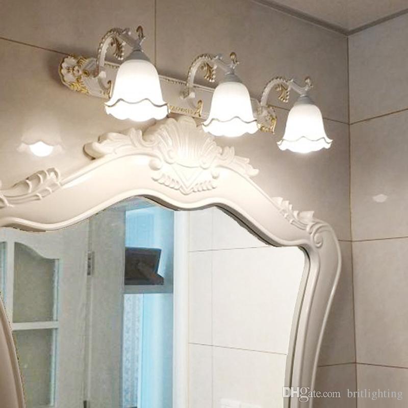 Imperméable Murale Avant Bains Led Applique Armoire Lumière De Salle Lampe La Coiffeur Miroir Toilette Chambre Commode shtCQrd