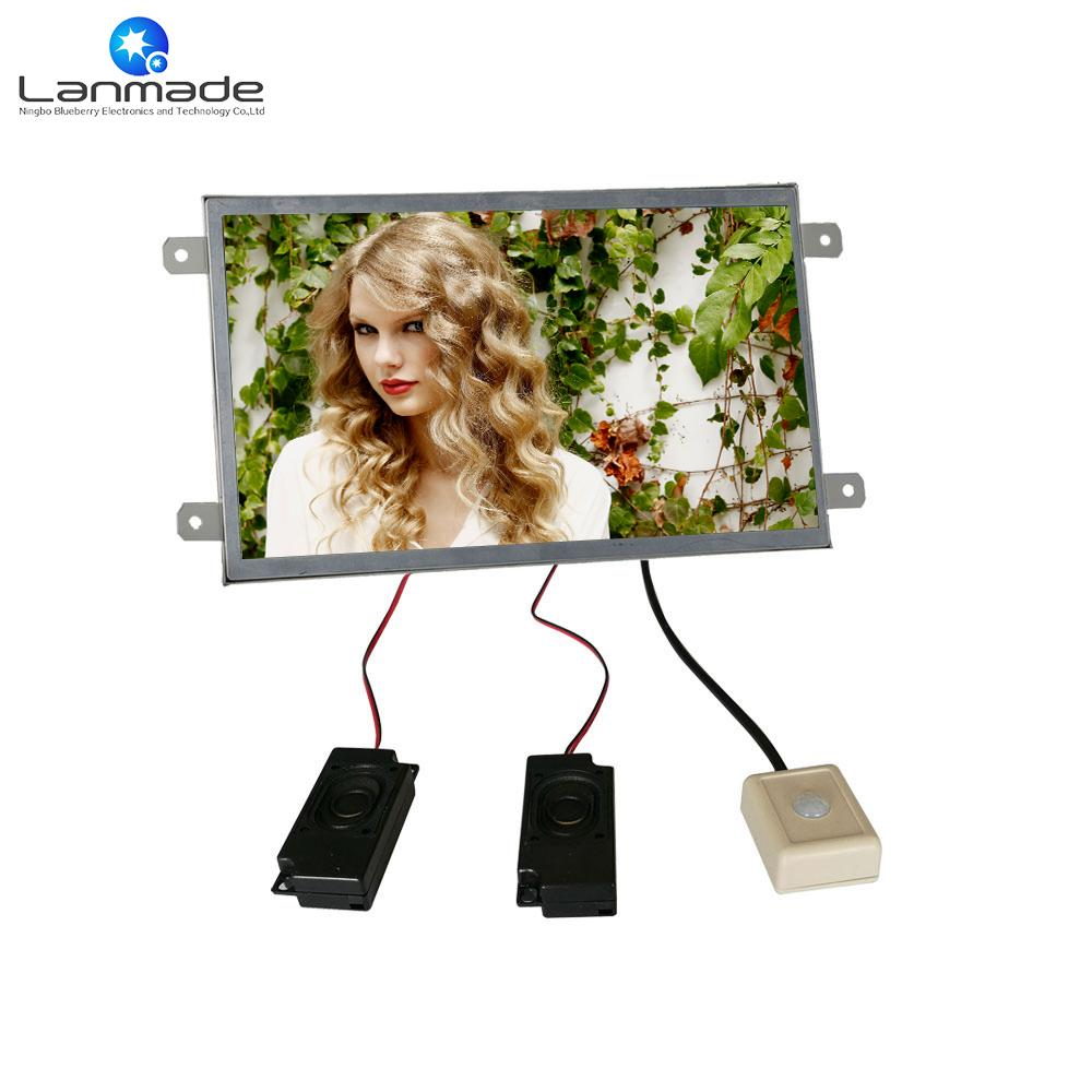 2018 10 Inch Sd Usb2.0 Interface Open Frame Lcd Display Advert ...