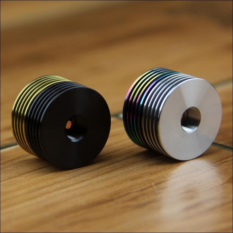 510 Hilo de enfriamiento Radiador del disipador de calor 22MM 24MM 25MM Metal Material Enfriamiento Ajustar VAPES MODS CAJAS RDA RTA RDTA Venta caliente de alta calidad