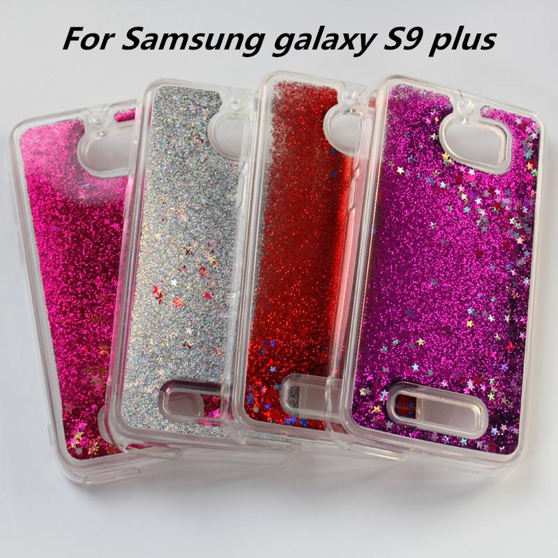 Water Glitter Cases Quicksand Gel Case For Samsung Galaxy S9 PLUS 3D Liquid  Case Soft TPU Floating Glitter Star Case OPP Bag C Make Your Own Cell Phone  Case ... ef7ae3d32645