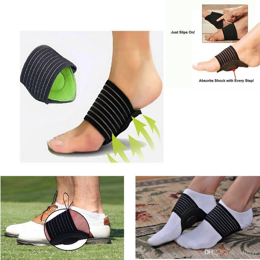 2pcs Pair Strutz Cushioned Cushioned Arch Support For Pain Relief Sore Flat Feet Care Foot Tool