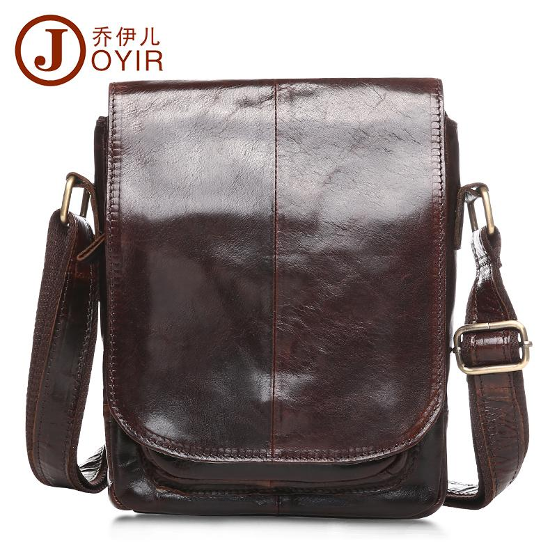 Vintage 100% Genuine Real Leather Messenger Bag Men Small Satchel Cover  Man s Bag Casual Oil Wax Leather Shoulder Brown Messenger Bags Satchel From  Croftte a70d0cac3bc8a