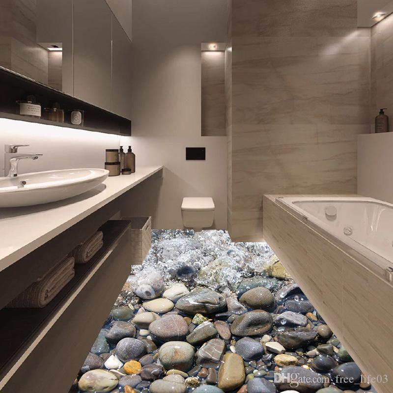 Wholesalecreative River Stone Wall Sticker 3d Cobble
