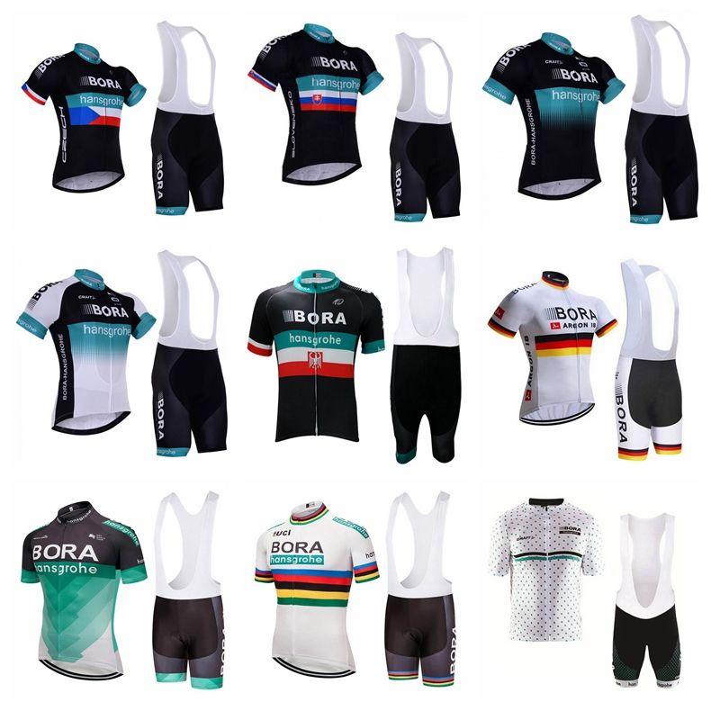 BORA Team Cycling Short Sleeves Jersey Bib Shorts Sets Men S Hot Sale New  Summer Breathable Quick Dry MTB Bike Short Shirt Bib Set 841228 Best Cycling  ... ae76cb8ca
