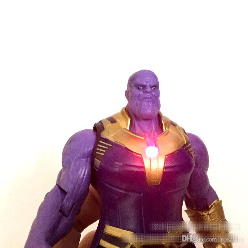 2 стиль Мстители 3 бесконечность войны рисунок игрушки 2018 Новый Танос Халк совместные фильмы подвижные фигурку игрушка Б